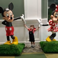 Kamden H. with Mickey and Minnie