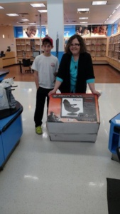 Mason O. with rocker at Walmart